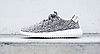 Мужские кроссовки Adidas Yeezy Boost 350 Kanye West (Адидас Изи Буст 350) серые, фото 6