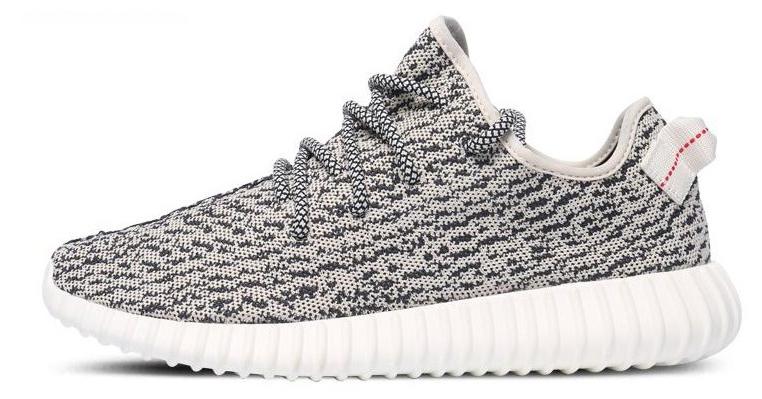 Мужские кроссовки Adidas Yeezy Boost 350 Kanye West (Адидас Изи Буст 350) серые