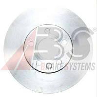 Гальмівний диск передній вентильований (R16, 300x26mm) VW Transporter T4 90-03 17355 ABS (Нідерланди)