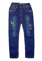 Утепленные джинсы для девочек, Goloxy, размеры 98, арт. MQ-6834