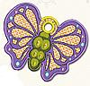 Полотенце с петелькой Бабочка (40*70 для рук)