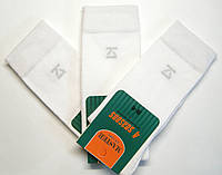 Белые высокие мужские носки