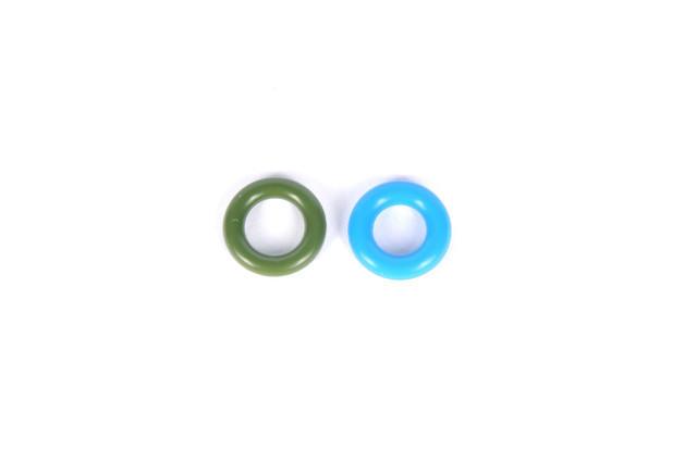 Уплотнительное кольцо (прокладка) топливной форсунки инжектора (комплект 2шт) GM 0817050 0817937 55579266 9318
