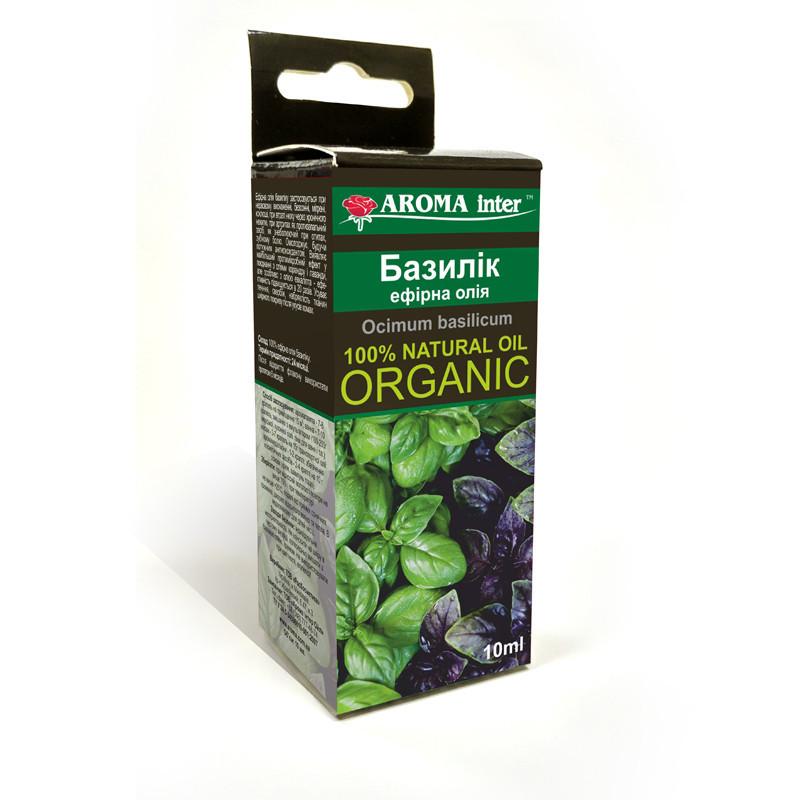 Базиликовое масло эфирное