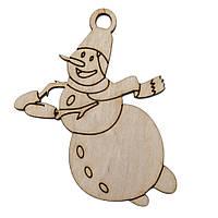 "Подвеска ""Снеговик в полете"""