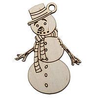 """Подвеска """"Печальный снеговик"""""""