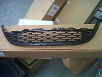 Решётка переднего бампера центральная нижняя чёрная без профиля GM 1320211 13387326 13368689 OPEL Astra-J 4 door sedan (седан) & 5 door hatch (хечбек)