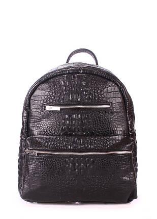 Рюкзак женский кожаный POOLPARTY Mini, фото 2