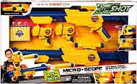 X-Shot Набор скорострельных бластеров EXCEL Combo Double Scope and Double Micro (4 оруж/ 24 патр) ТМ Zuru 3643