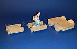 Візок №1 заготівля для декупажу та декору, фото 2