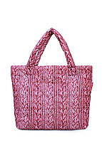 Дутая сумка POOLPARTY с вязкой