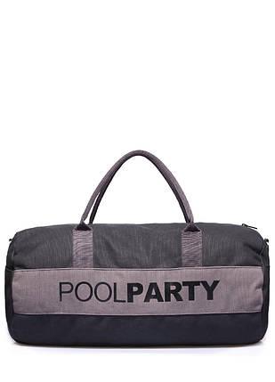 Спортивно-повседневная сумка POOLPARTY Gymbag, фото 2