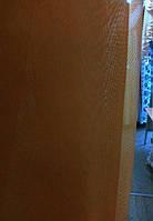 Тюль, шифон однотонный коричневый