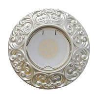 Встраиваемый светильник Feron CD004 MR-16 серебро