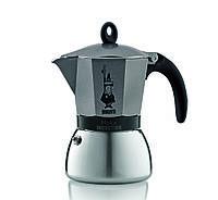 Кофеварка гейзерная Bialetti Moka Induction антрацит на 3 чашки 0004822X4