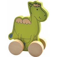 """Деревянная игрушка-каталка """"Верблюд"""" для детей от 1 года ТМ """"Игрушки из дерева"""" Д297"""