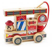 """Деревянная развивающая игрушка Автомобиль-конструктор №2 для детей от 1 года ТМ """"Игрушки из дерева"""" Д060"""