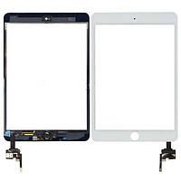 Тачскрин для APPLE iPad mini/ mini 2 белый с микросхемой и кнопкой Home Н/С