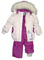 Теплый зимний комбинезон для девочки RM