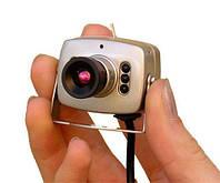 Камера видеонаблюдения, цветная, 12V, с блоком питания в комплекте