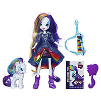 Кукла Рарити Эквестрия и маленькая пони (My Little Pony Equestria Girls Rarity Doll and Pony Set)
