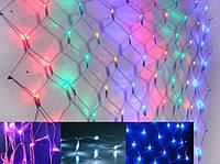 Гирлянда светодиодная Сетка 210 диодов