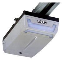 Автоматика для секционных и гаражных ворот FAAC D600 площадь до 9 кв рейка 3.2м