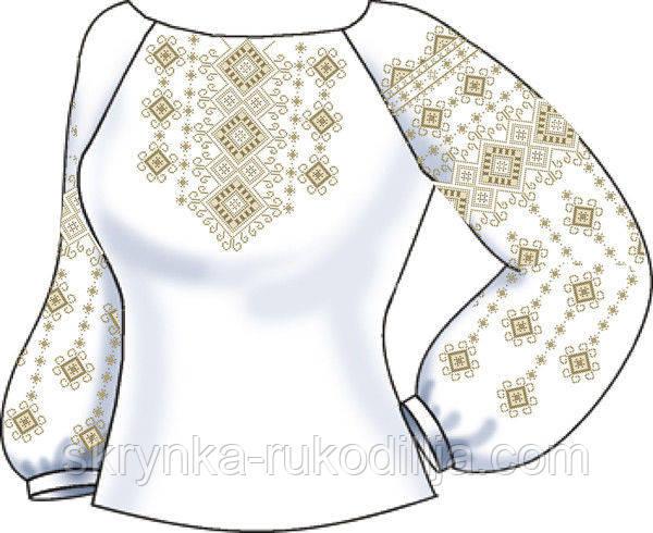 Заготовка для вишивки бісером нитками жіночої сорочки - СКРИНЬКА. Товари  для вишивки бісером та 6d821b601c79d