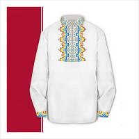 Заготовка сорочки-вышиванки для мальчика (размер 30-34)