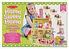 """Детский 3D пазл """"Домик сладостей"""" (Home Sweet Home 3D Puzzle) больше 100 деталей ТМ Melissa & Doug MD9460, фото 4"""