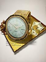 """Золотые часы """"Ролекс""""из конфет для мужчин"""