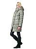 Женская зимняя куртка прямого силуэта 203 олива