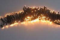 Гирлянда светодиодная уличная 20 метров желтая