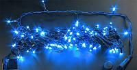 Гирлянда светодиодная уличная 20 метров синяя
