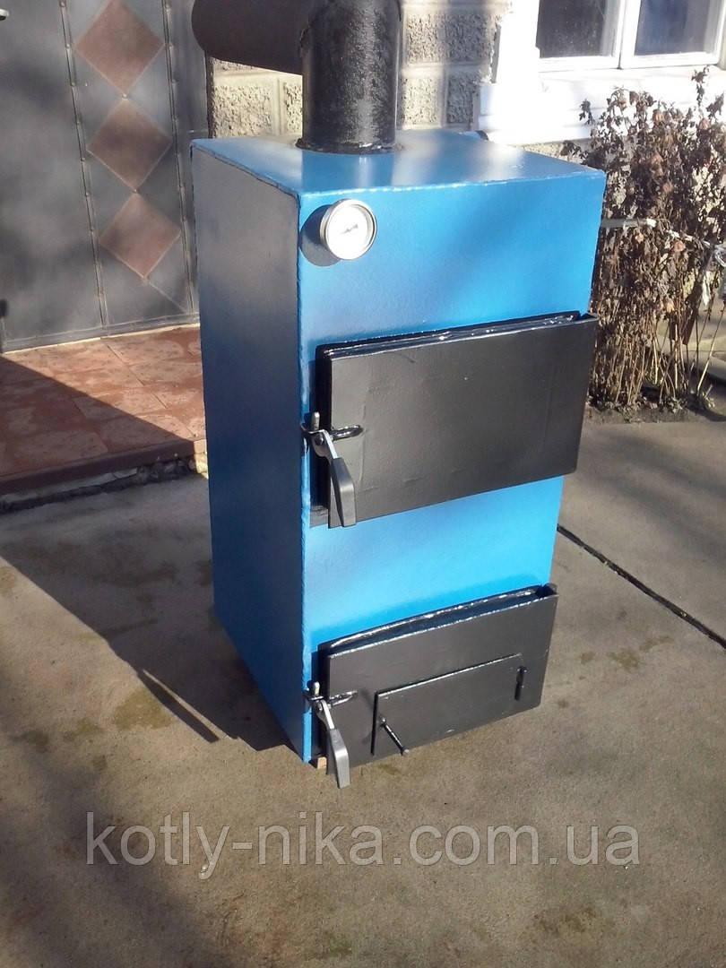 Твердопаливний котел 10 кВт