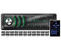 Автомагнитола Shuttle SUD-347 1 Din USB/SD Black/Green