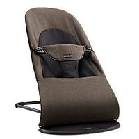 Детское кресло-шезлонг Balance Soft ТМ BabyBjorn темно-серый/серая бавовна/Джерси 5084