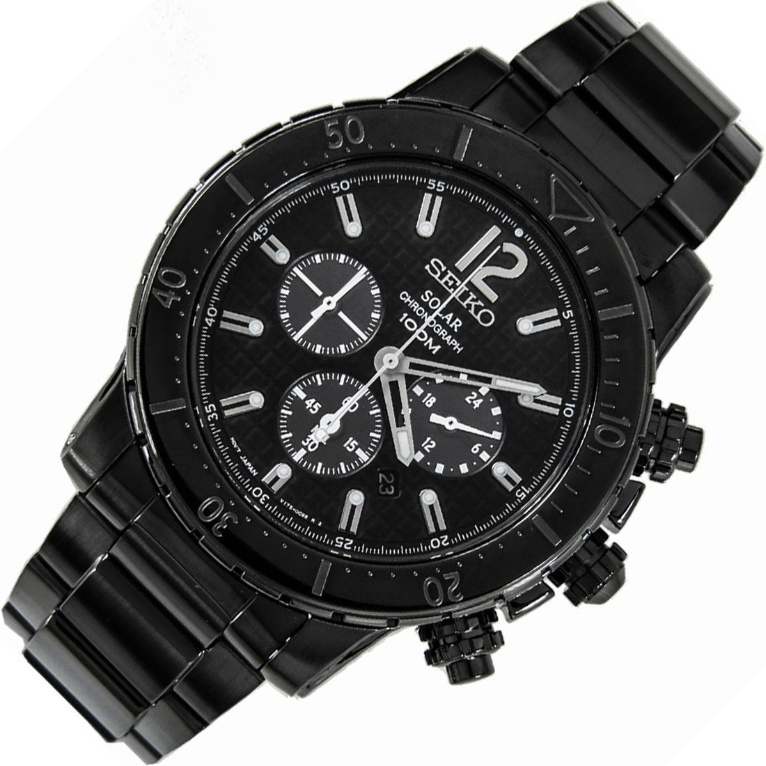 Часы Seiko SSC225P1 хронограф SOLAR