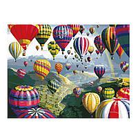 Рисование по цифрам Воздушные шары