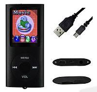 MP3 плеер 2дюйма экран с динамиком  microSD без памяти металл (копия под Ipod nano 5gen) ЧЕРНЫЙ SKU0000400