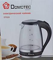ЭЛЕКТРОЧАЙНИК DOMOTEC DT- 820 С ПОДСВЕТКОЙ.