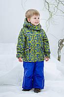 Зимний термокостюм для мальчика 2-6 лет р. 92-116 (куртка и полукомбинезон) ТМ Be easy 2017RM4-016