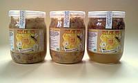 Забрус - Мед забрус - Забрус пчелиный разнотравье 0,5 литра, фото 1
