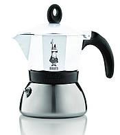 Кофеварка гейзерная Bialetti Moka Induction белый, на 3 чашки