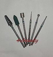 Набор фрез (боров) для маникюра/педикюра и коррекции DS0902