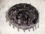 Подушка  ручная робота, черные, фото 6