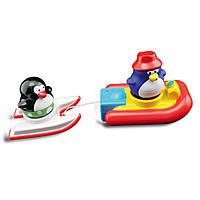 """Игрушка для ванны """"Пингвинчики на водных лыжах"""" для детей от 1 года ТМ Water Fun 23140"""