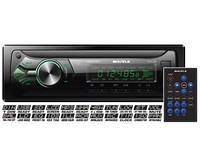 Автомагнитола Shuttle SUD-368 USB/SD 1 Din Black/Green