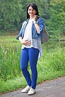 Лосины Фитнес для беременных р. 44, 50 ТМ NowaTy синий 16020201