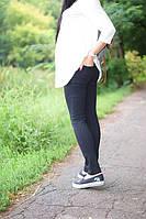 Лосины Фитнес для беременных р. 42,44,50 ТМ NowaTy черные 16020203